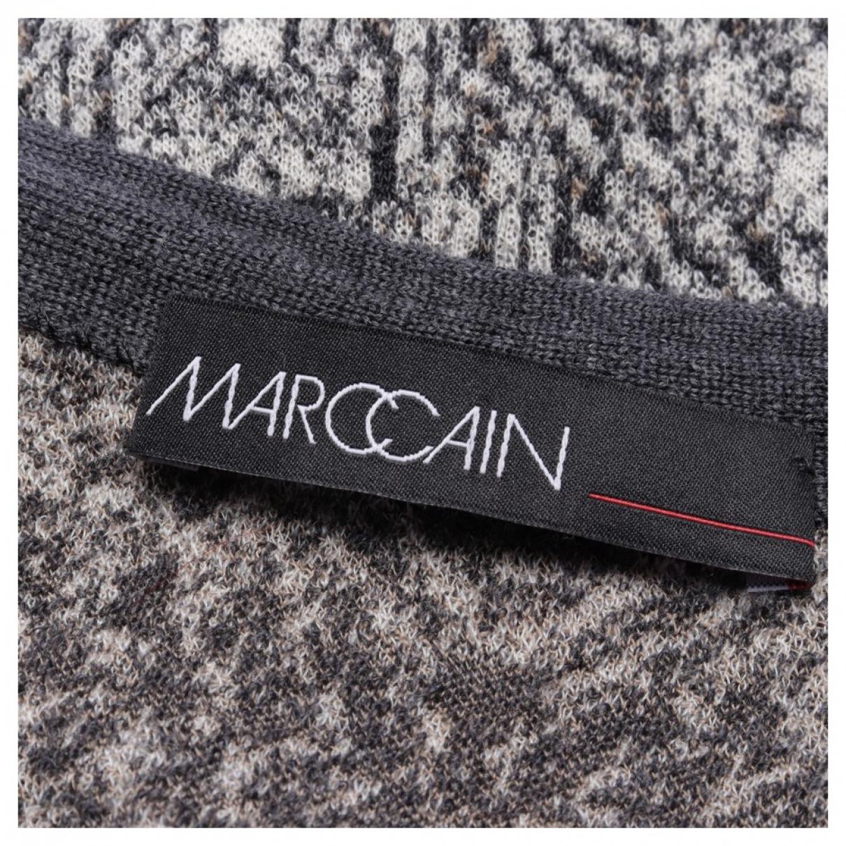 Marc Cain \N Kleid in  Grau Baumwolle