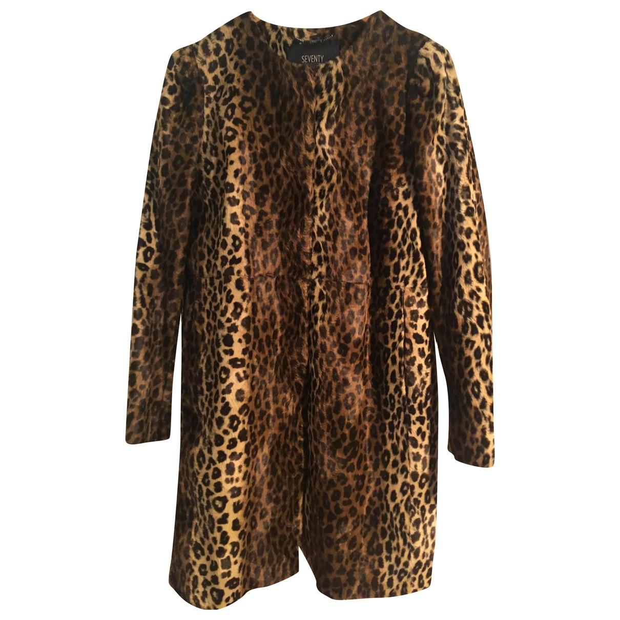 Seventy - Manteau   pour femme en coton - marron