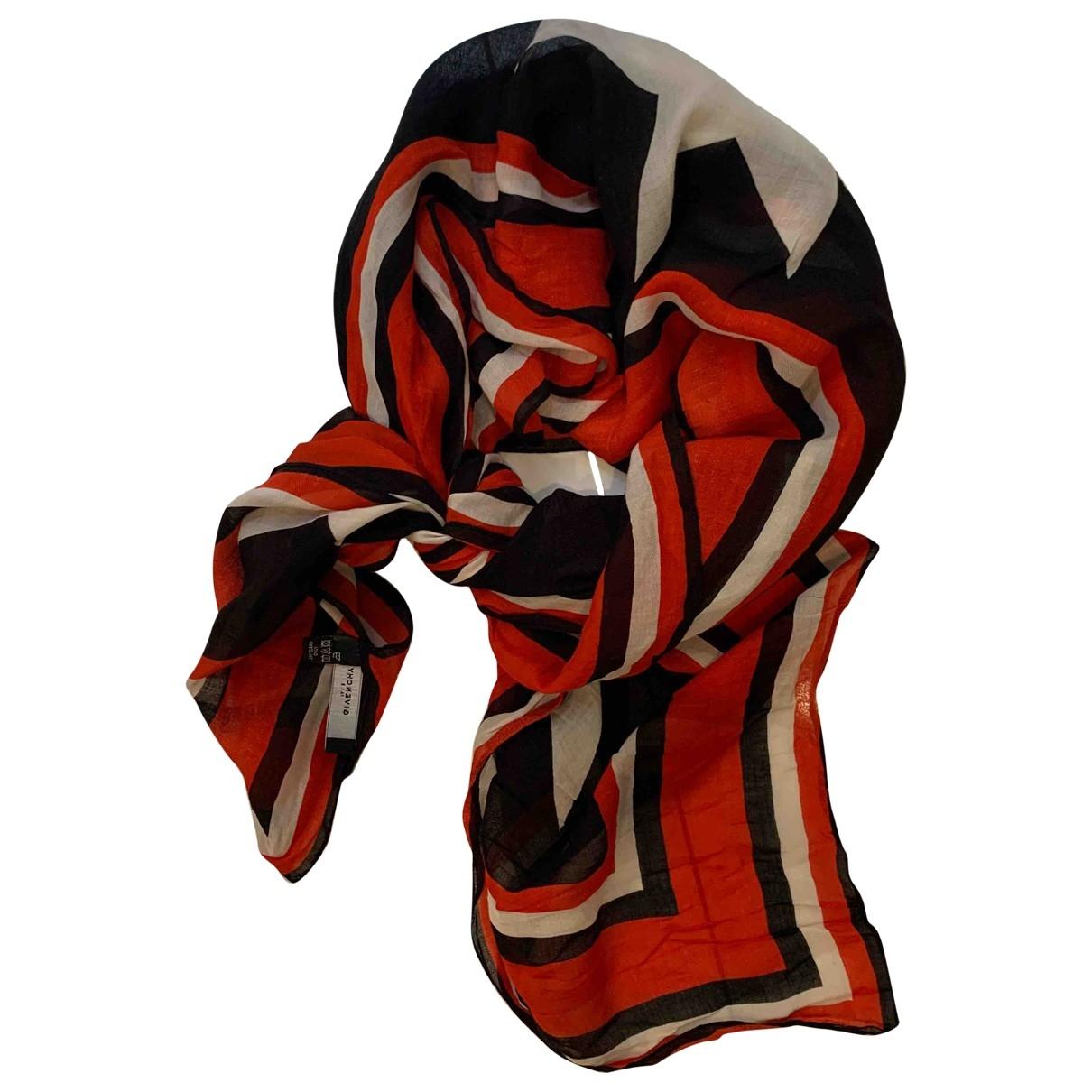 Givenchy \N Black Cotton Silk handkerchief for Women \N