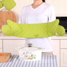 1pc Large 2 In 1 Microwave Oven Glove