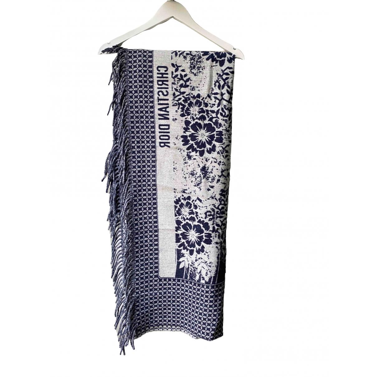 Dior - Linge de maison Toile De Jouy Sauvage pour lifestyle en laine - bleu