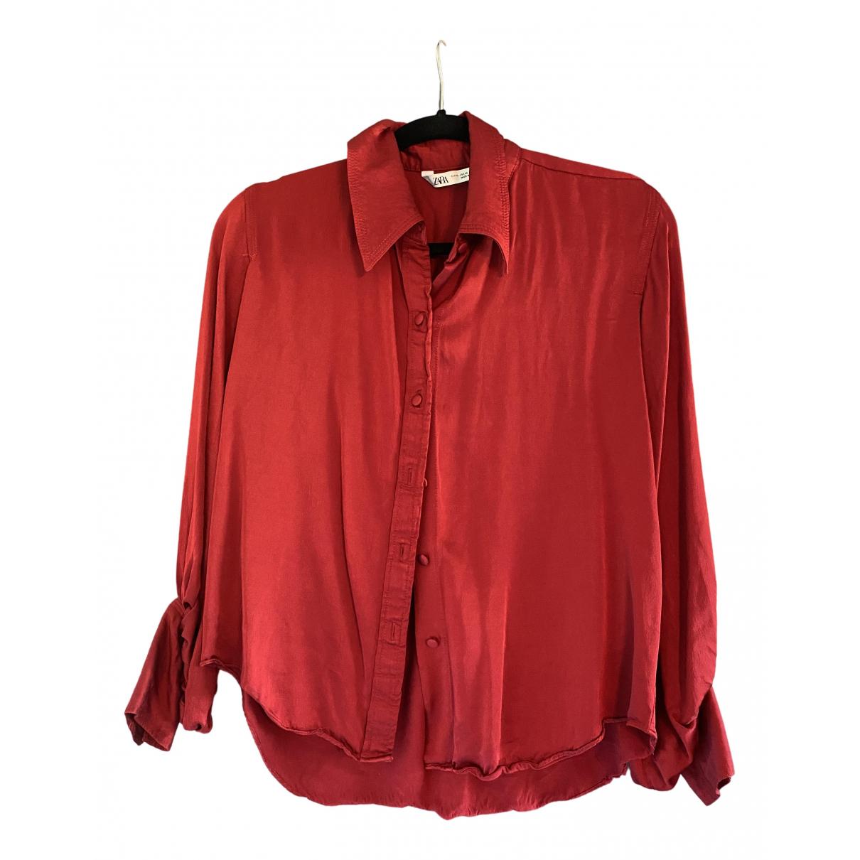 Zara \N Red  top for Women XS International