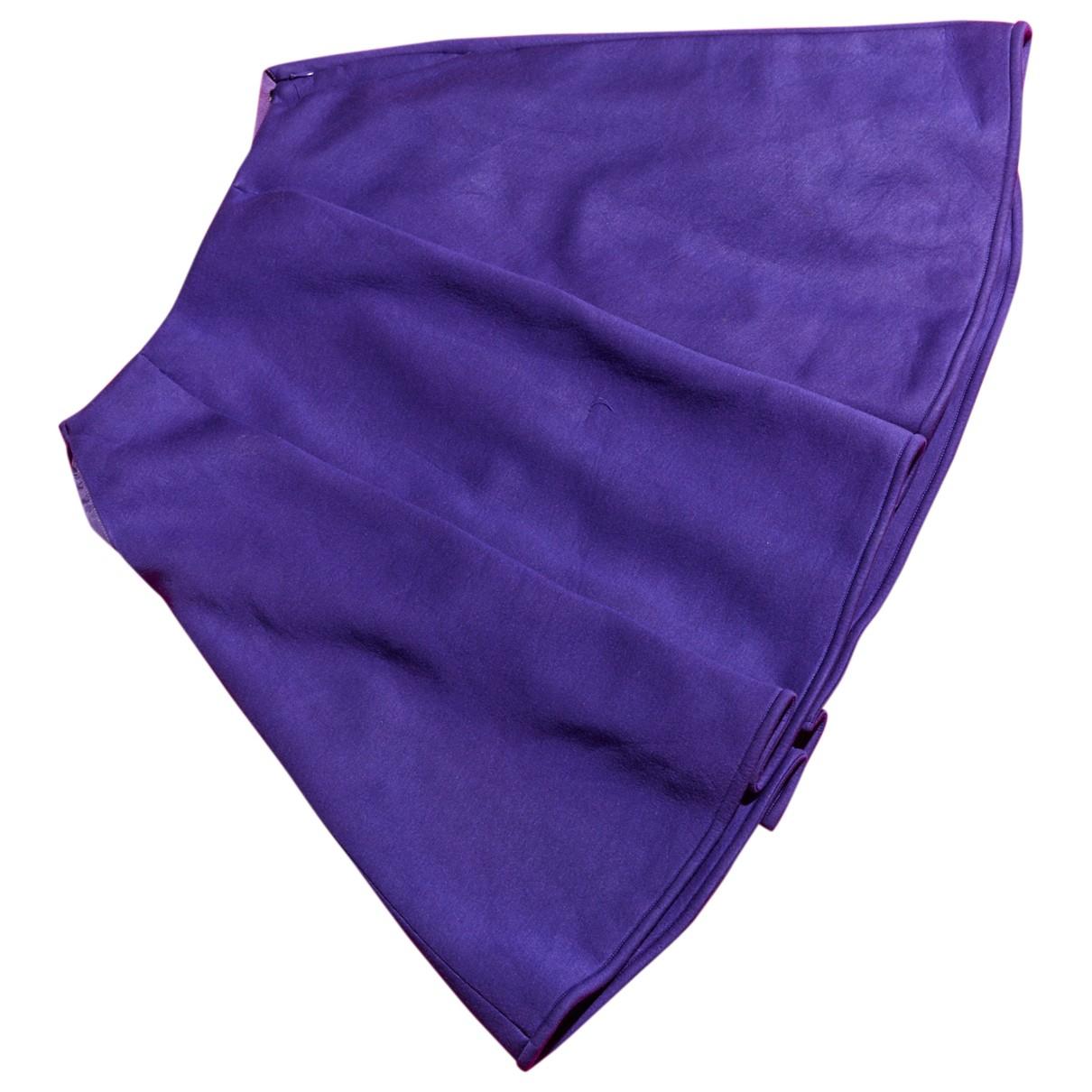 Jil Sander - Jupe   pour femme en coton - violet