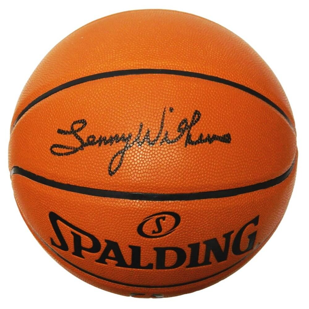 Lenny Wilkens Spalding Game Series Replica NBA Basketball - Black - 5' x 8' (Black - 5' x 8')