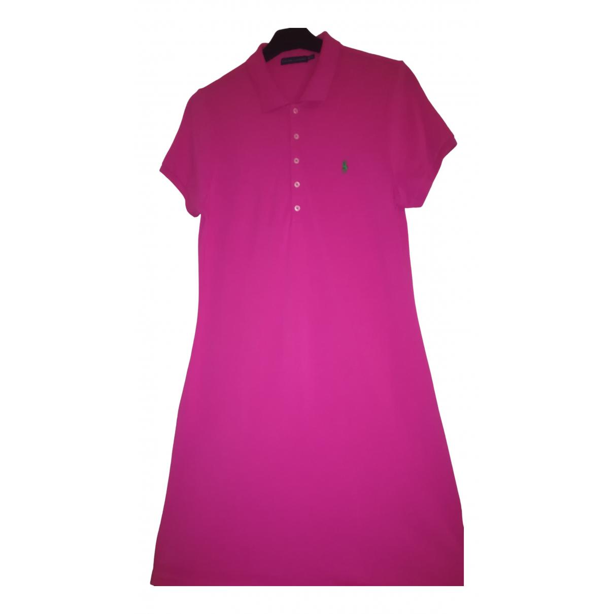Ralph Lauren N Pink Cotton dress for Women 46 FR
