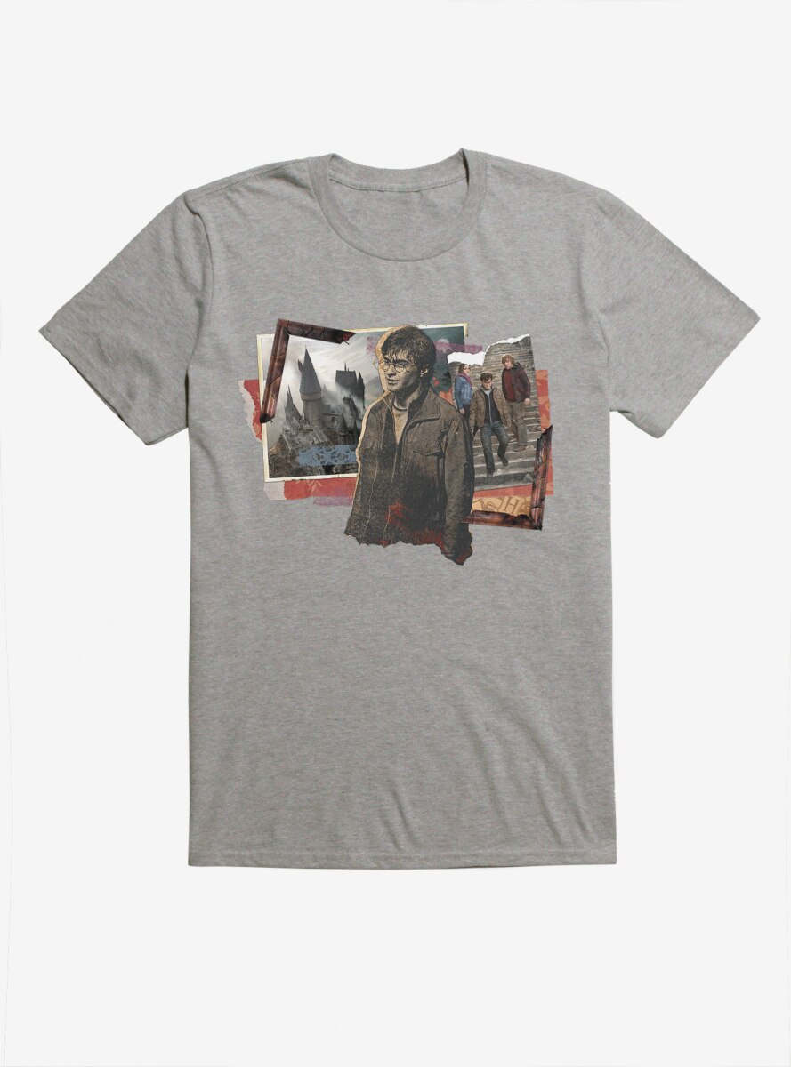 Harry Potter Group Collage T-Shirt