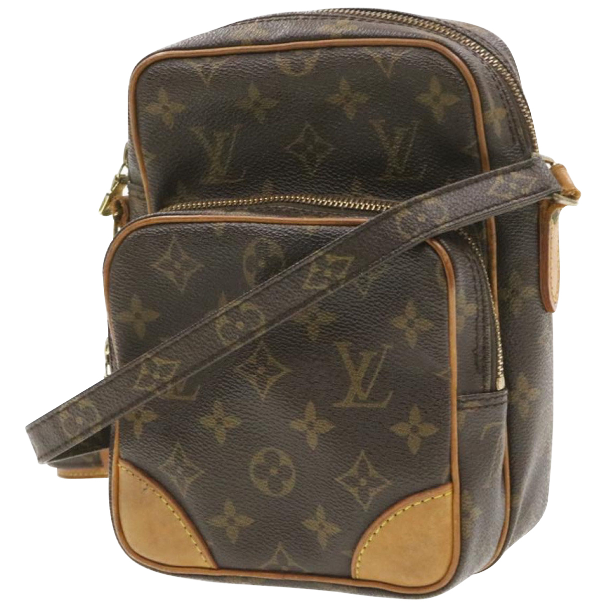 Louis Vuitton Amazon Brown Cloth handbag for Women N