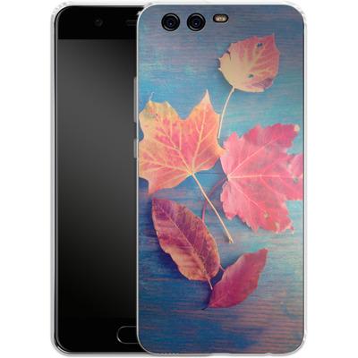 Huawei P10 Silikon Handyhuelle - The Colors Of Autumn von Joy StClaire