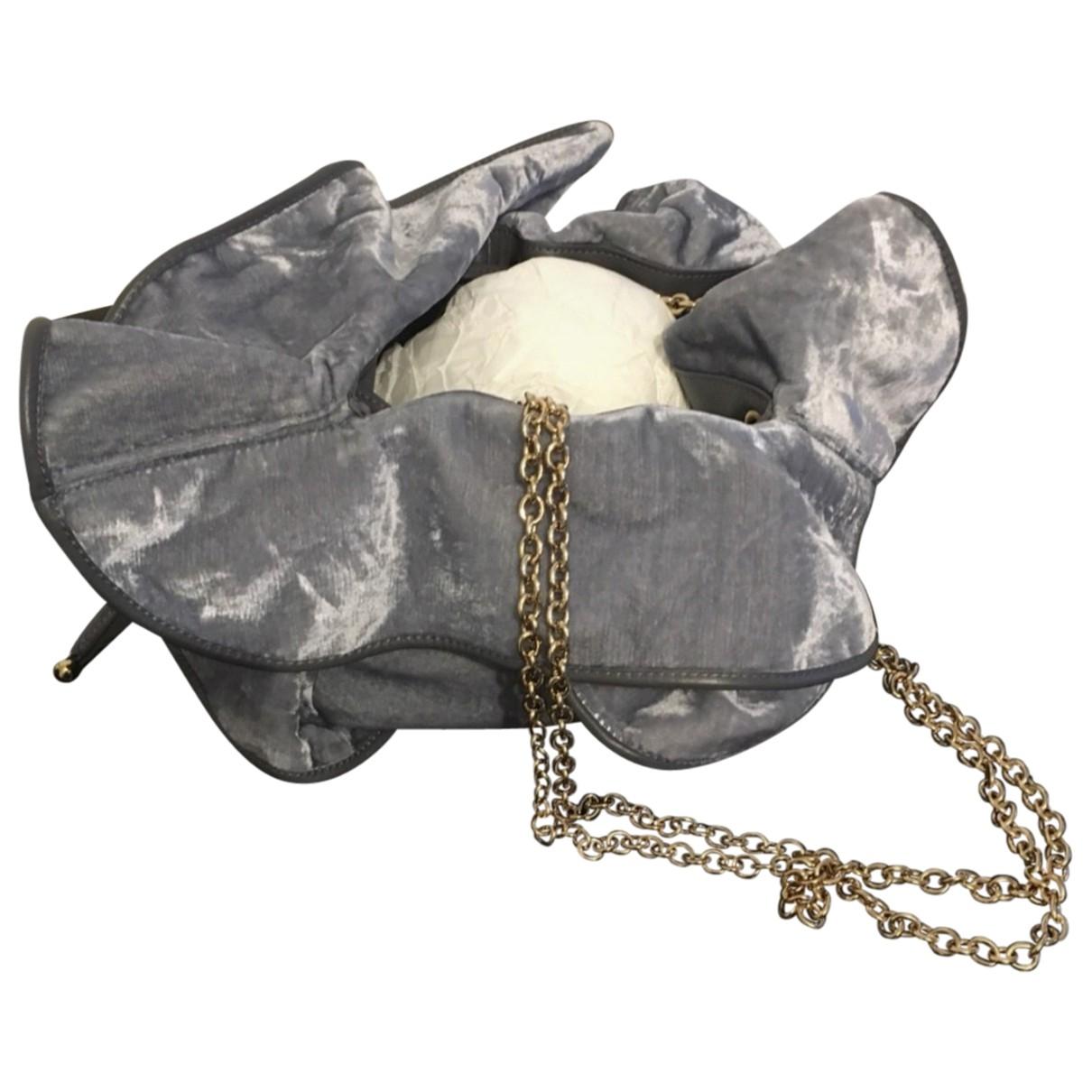 Nina Ricci \N Grey Velvet handbag for Women \N