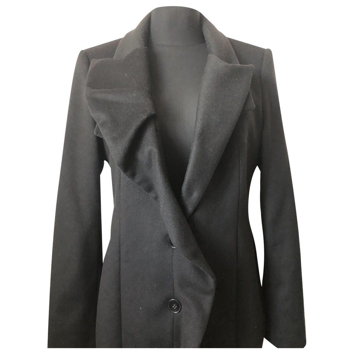 Hugo Boss N Black Wool coat for Women M International