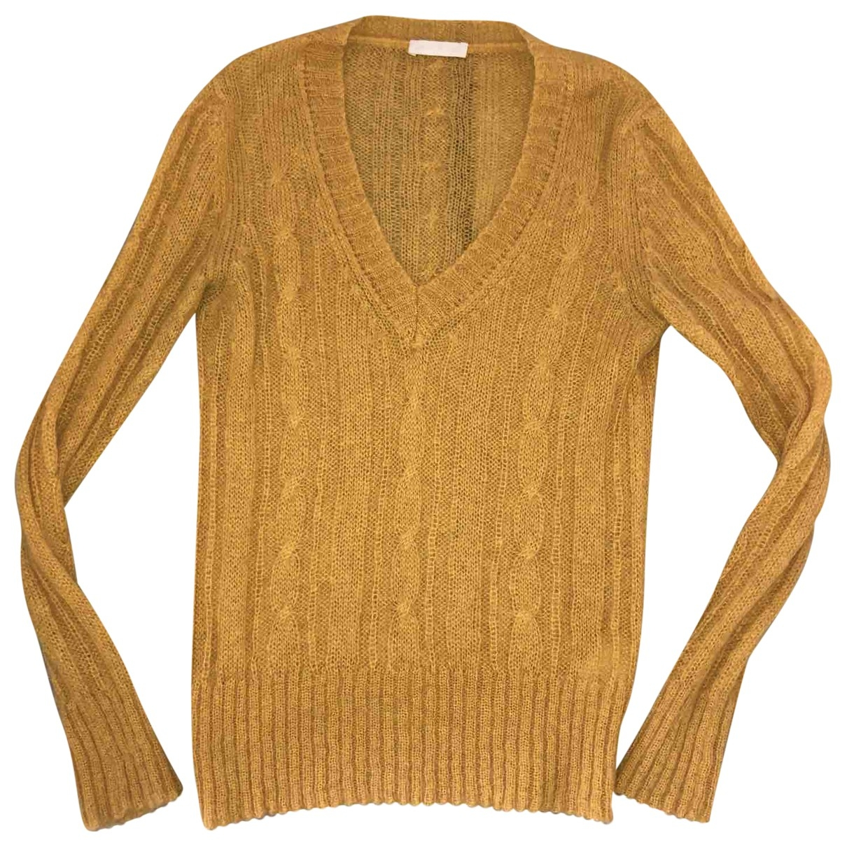 Ermanno Scervino \N Pullover in  Gelb Wolle