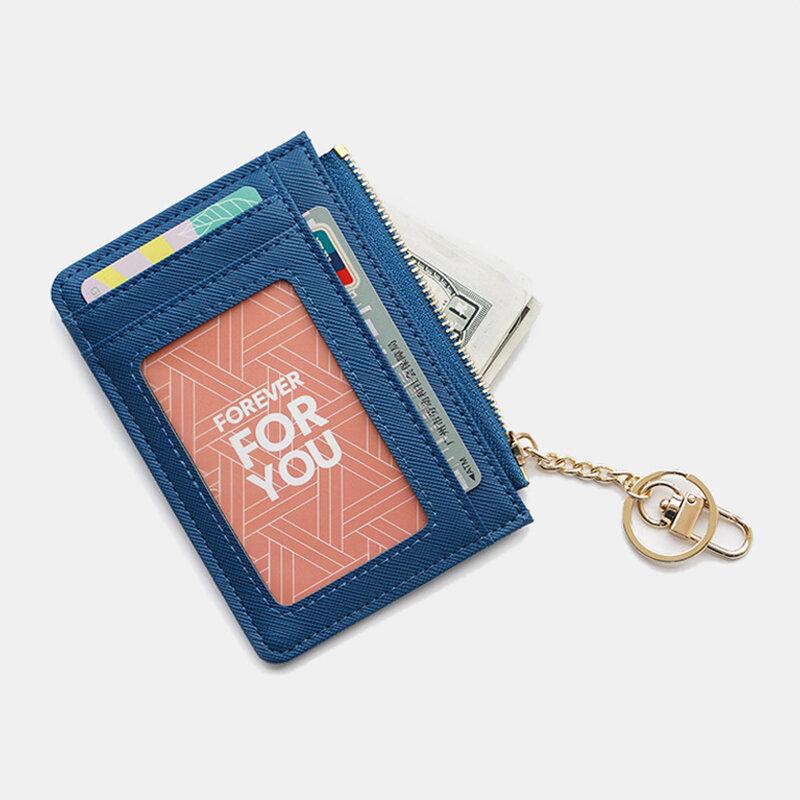 Women Hardware Casual Mini Wallet Purse