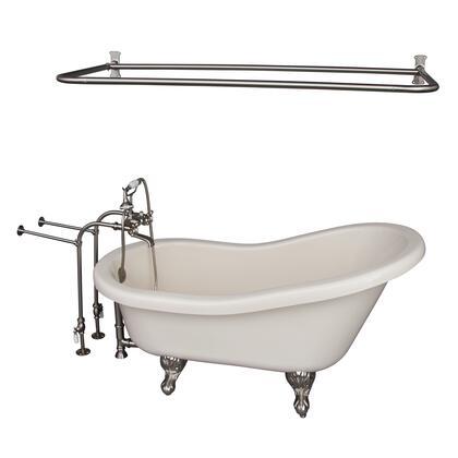 TKADTS60-BBN6 Tub Kit 60 AC Slipper  Shower Rd  Filler  Supplies  Drain-Brush