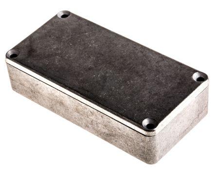 Hammond 1590, Unpainted Die Cast Aluminium Enclosure, IP54, Shielded, 100 x 50 x 25.5mm