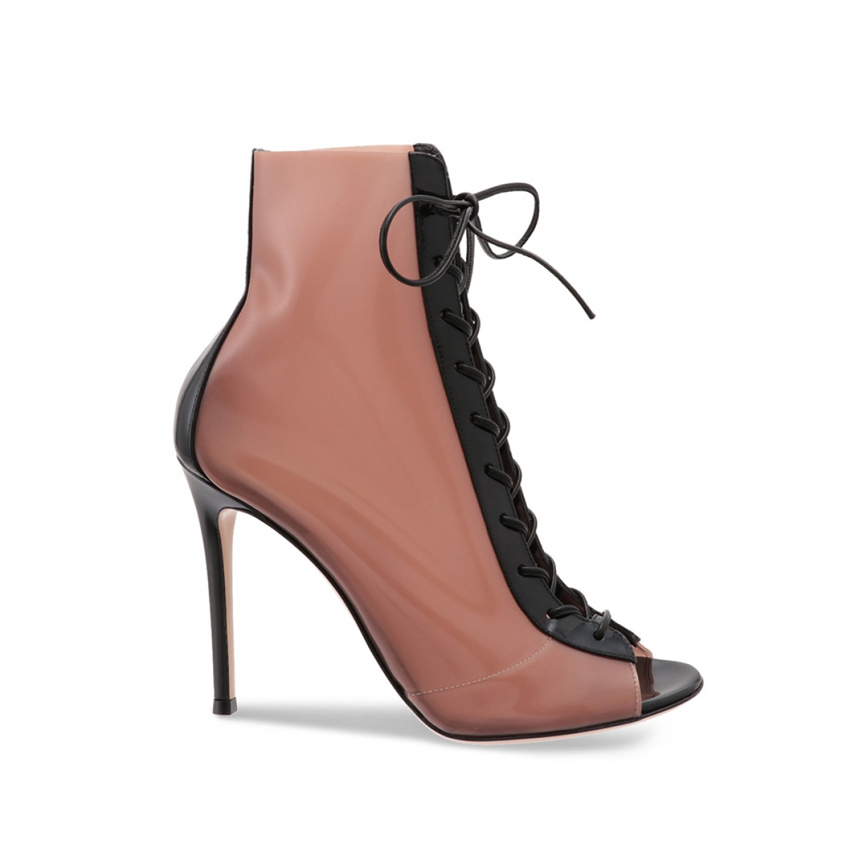Gianvito Rossi - Boots   pour femme en toile - noir
