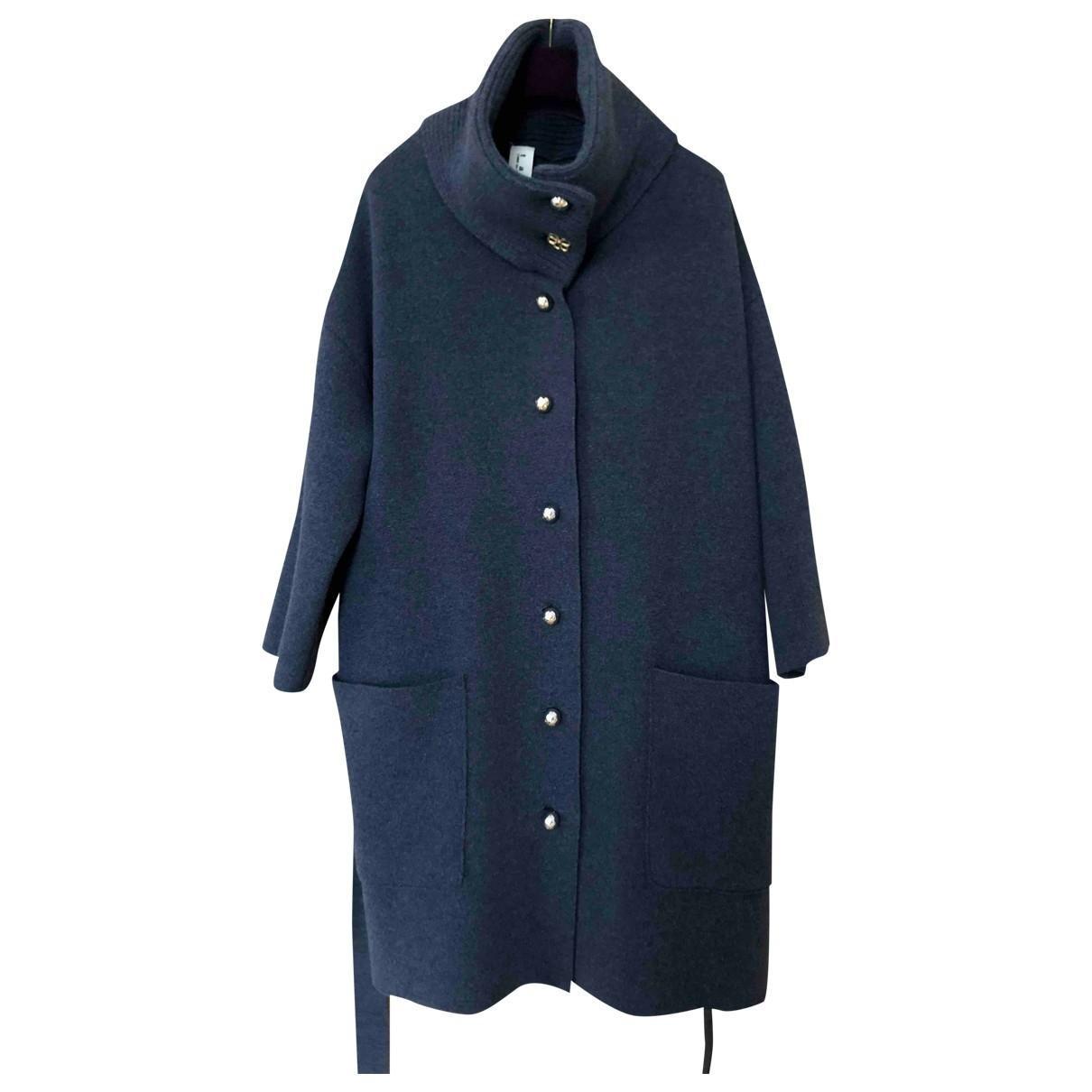 Comme Des Garcons - Manteau   pour femme en cachemire - gris