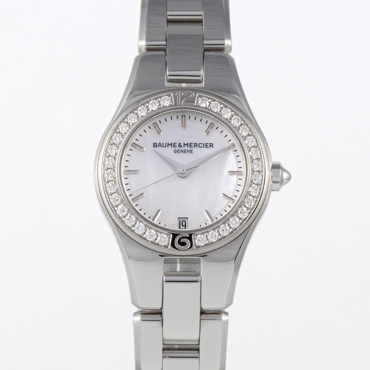 Baume Et Mercier Linea Uhr in  Silber Stahl