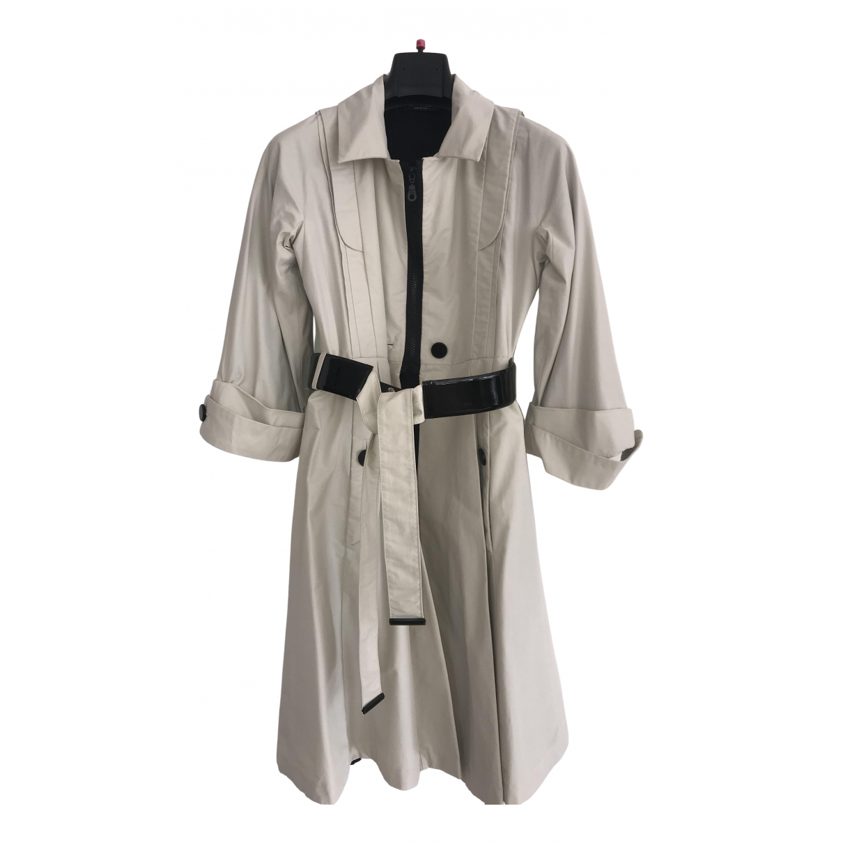 Gucci N Beige Cotton Trench coat for Women 40 IT