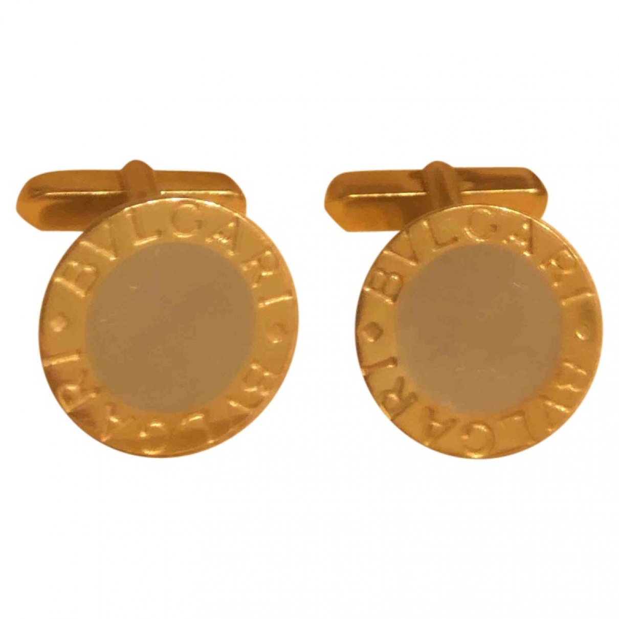 Bvlgari \N Gold Gold Cufflinks for Men \N