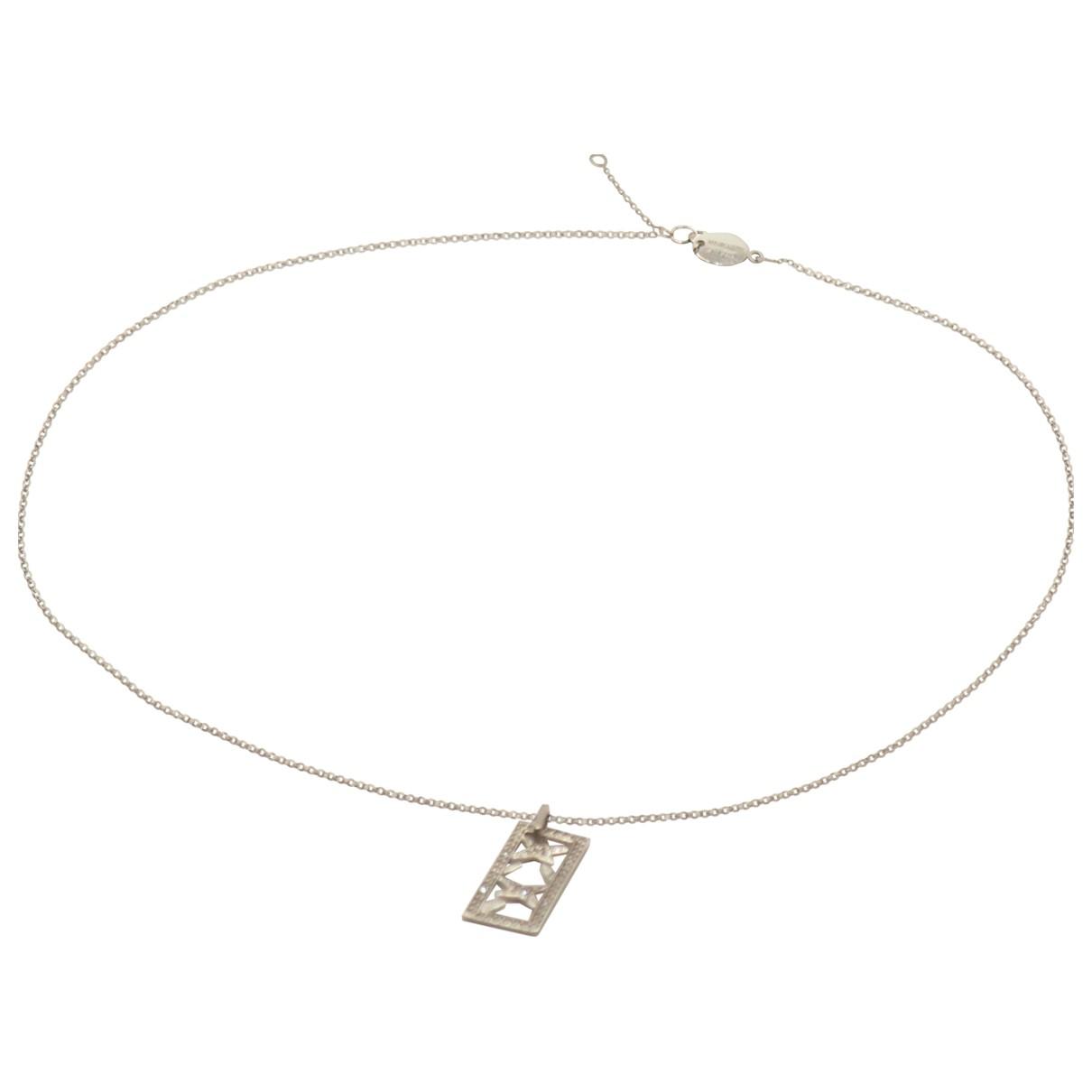 Mauboussin - Collier   pour femme en or blanc - argente