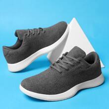 Zapatillas deportivas de hombres con cordon delantero minimalistas