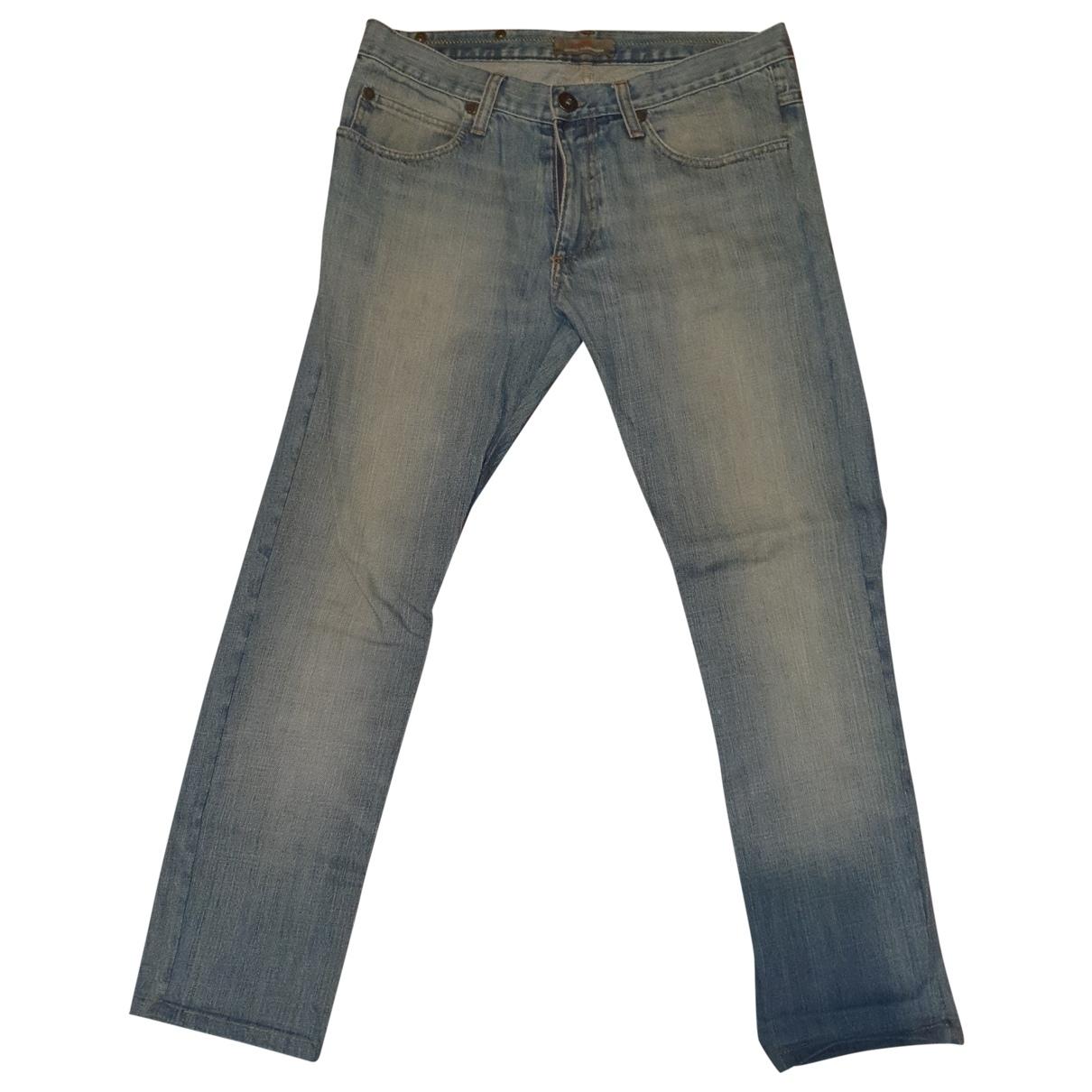 Daniele Alessandrini \N Cotton Jeans for Men 40 - 42 FR