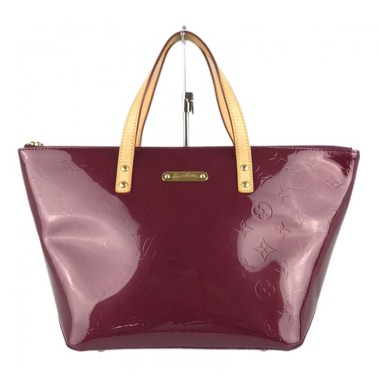 Louis Vuitton Bellevue Red Patent leather handbag for Women \N