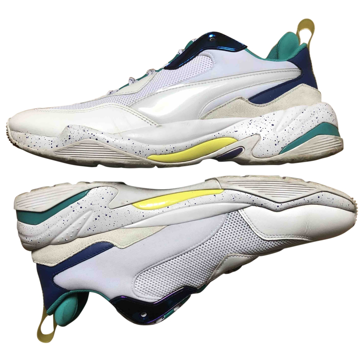 Puma - Baskets   pour homme en toile - blanc