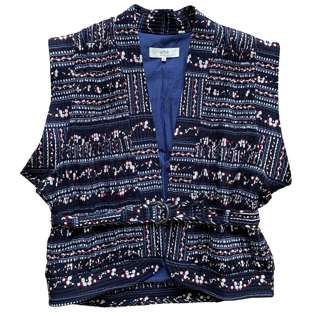 Vanessa Bruno Athe \N Blue Cotton jacket for Women S International