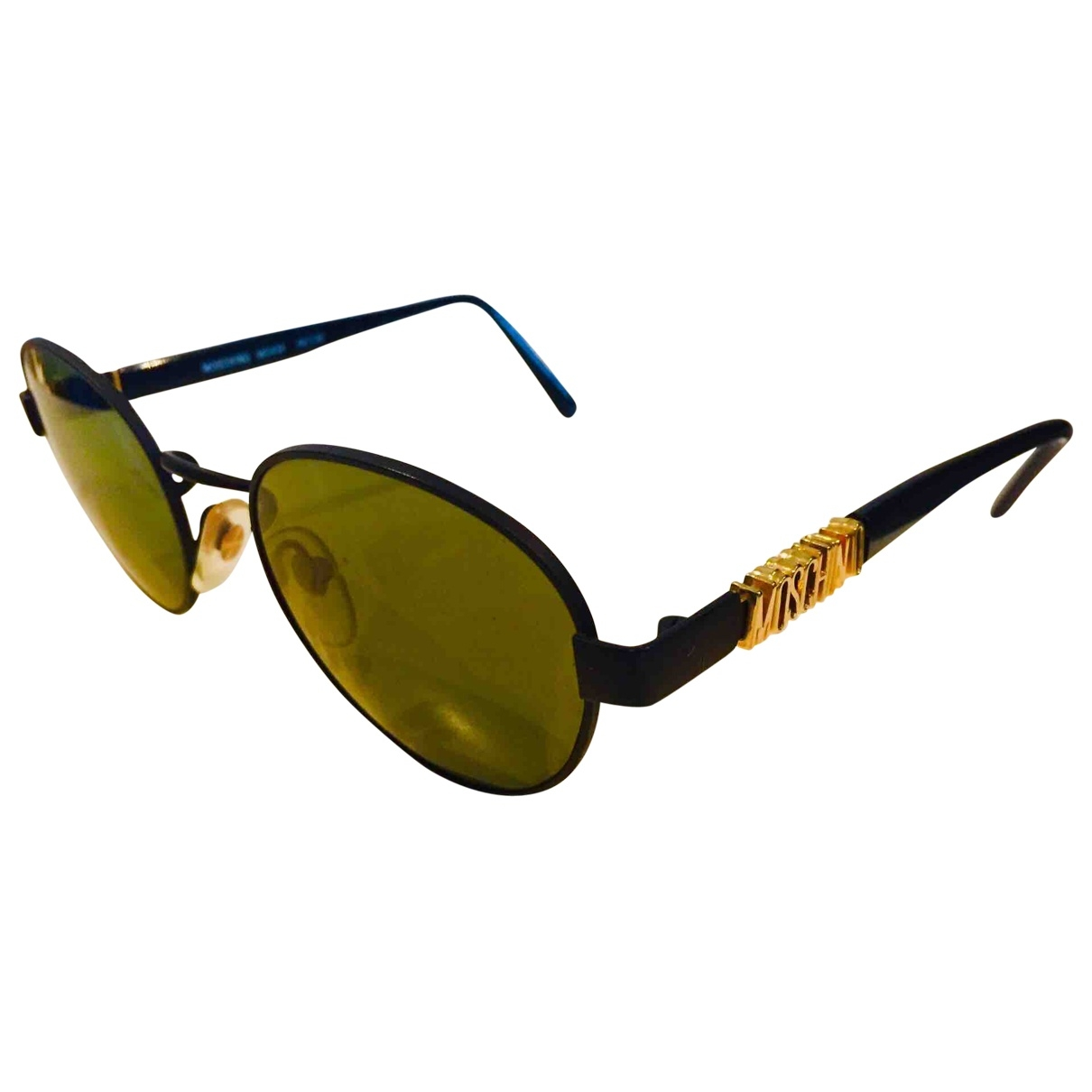 Moschino \N Black Metal Sunglasses for Women \N