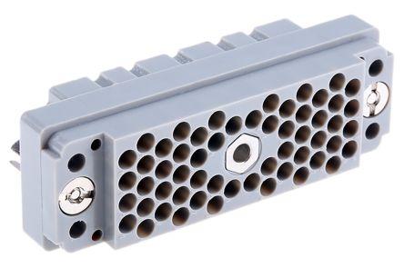 EDAC , 516 56 Way Heavy Duty Power Connector Socket