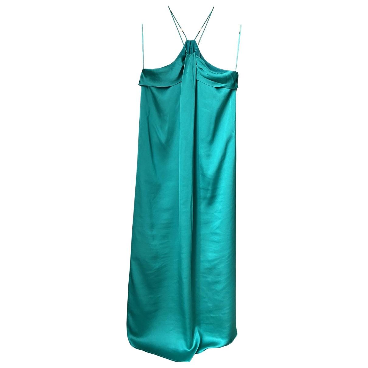 Mango \N Kleid in  Gruen Polyester