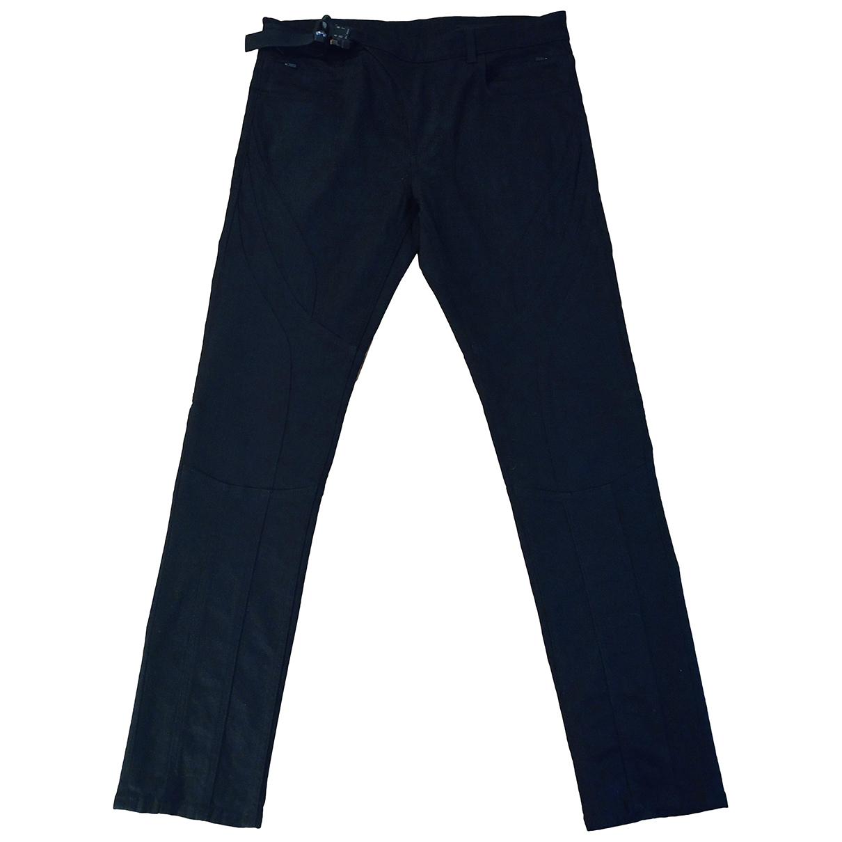 Alyx N Black Cotton Jeans for Men 32 US