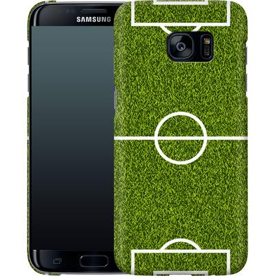Samsung Galaxy S7 Edge Smartphone Huelle - Soccer Field von caseable Designs