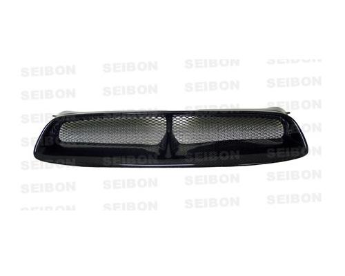Seibon FG0405SBIMP-CW Front Carbon Fiber CW-Style Grill Subaru WRX 04-05