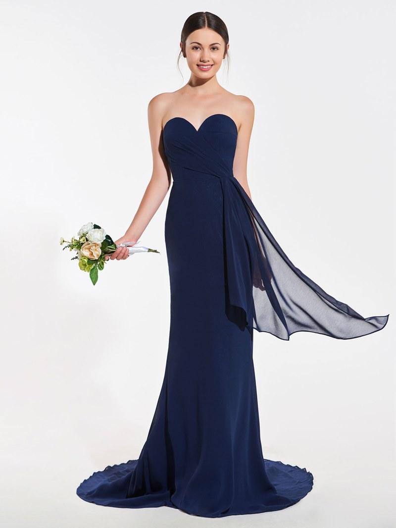 Ericdress Sweetheart Chiffon Mermaid Bridesmaid Dress