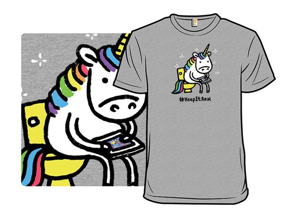 Hashtag, Keep It Real T Shirt
