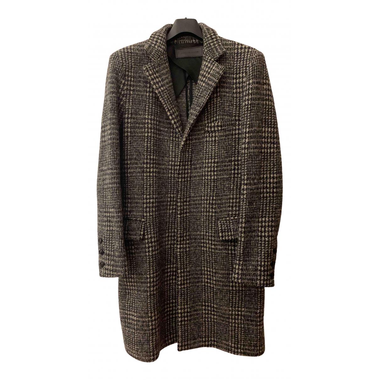 - Manteau   pour homme en laine
