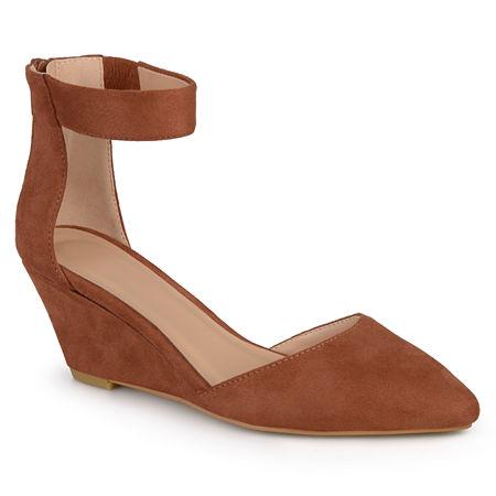 Journee Collection Womens Kova Slip-On Shoes, 11 Medium, Brown