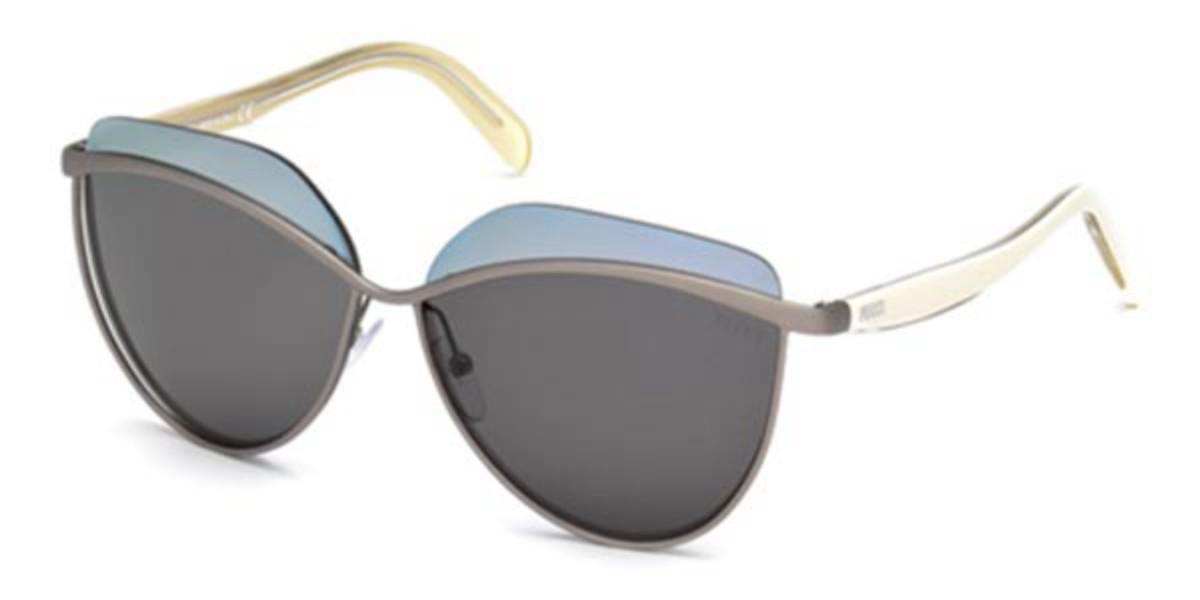 Emilio Pucci EP0052 15C Women's Sunglasses Grey Size 60