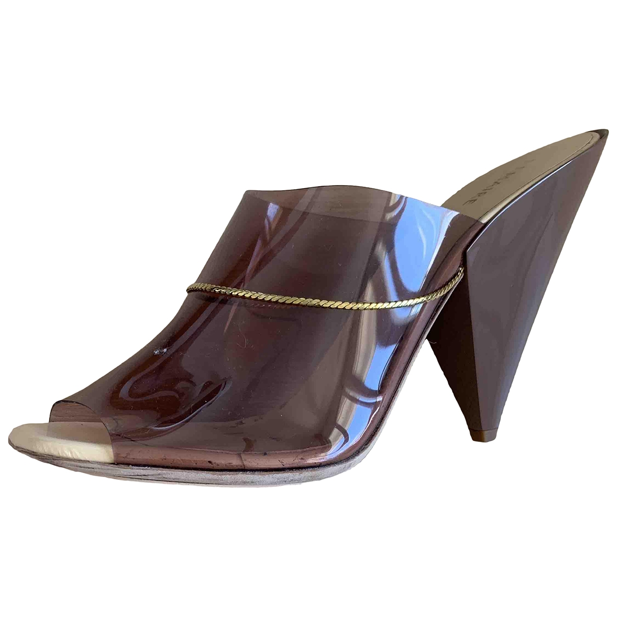 Lemaire \N Sandalen in  Braun Kunststoff