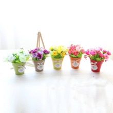 1pc Artificial Potted Rose