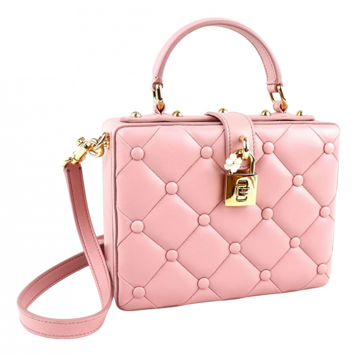 Dolce & Gabbana \N Pink Leather handbag for Women \N