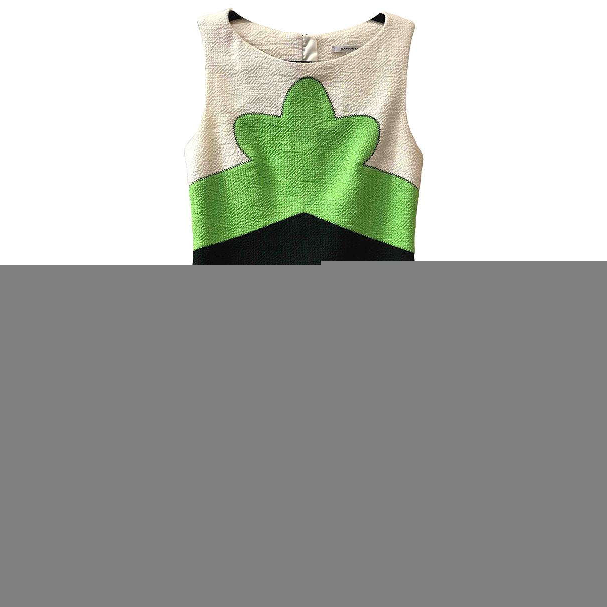 Carven N Ecru Cotton dress for Women 36 FR