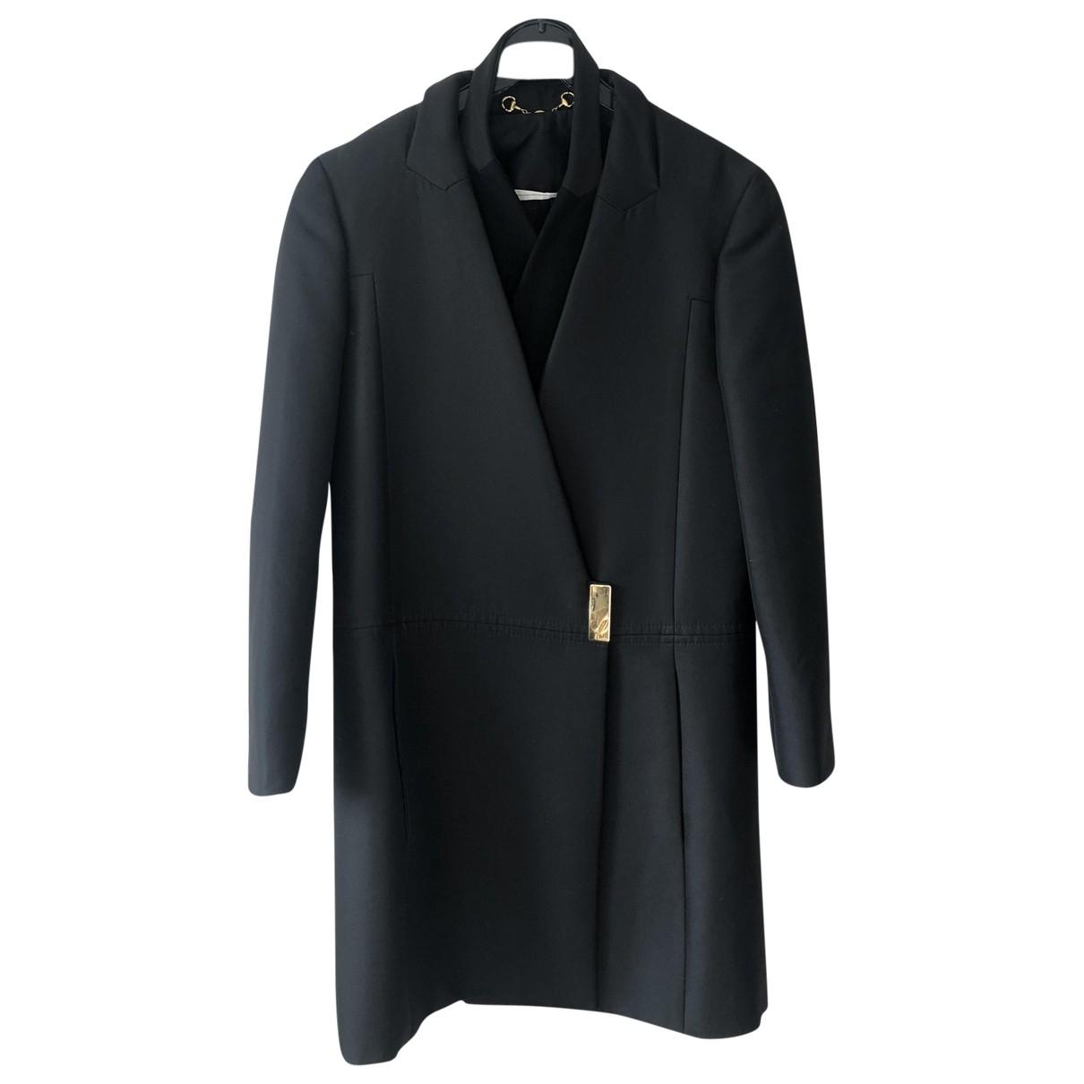 Gucci - Manteau   pour femme en coton - noir