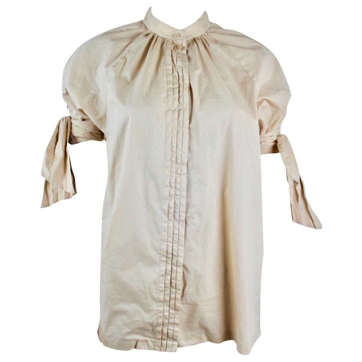 Paul & Joe - Top   pour femme en coton - beige