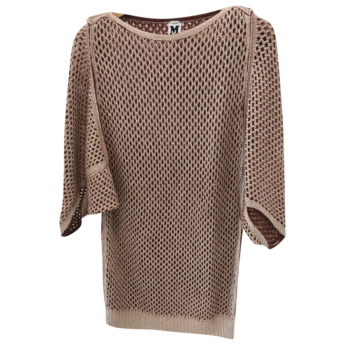 M Missoni \N Gold Knitwear for Women 42 IT