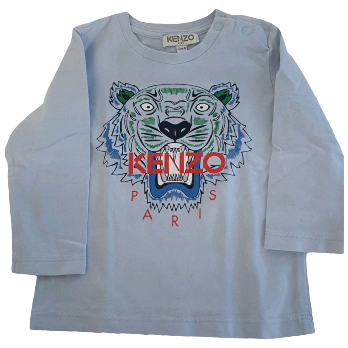 Kenzo \N Blue Cotton  top for Kids 12 months - up to 74cm FR