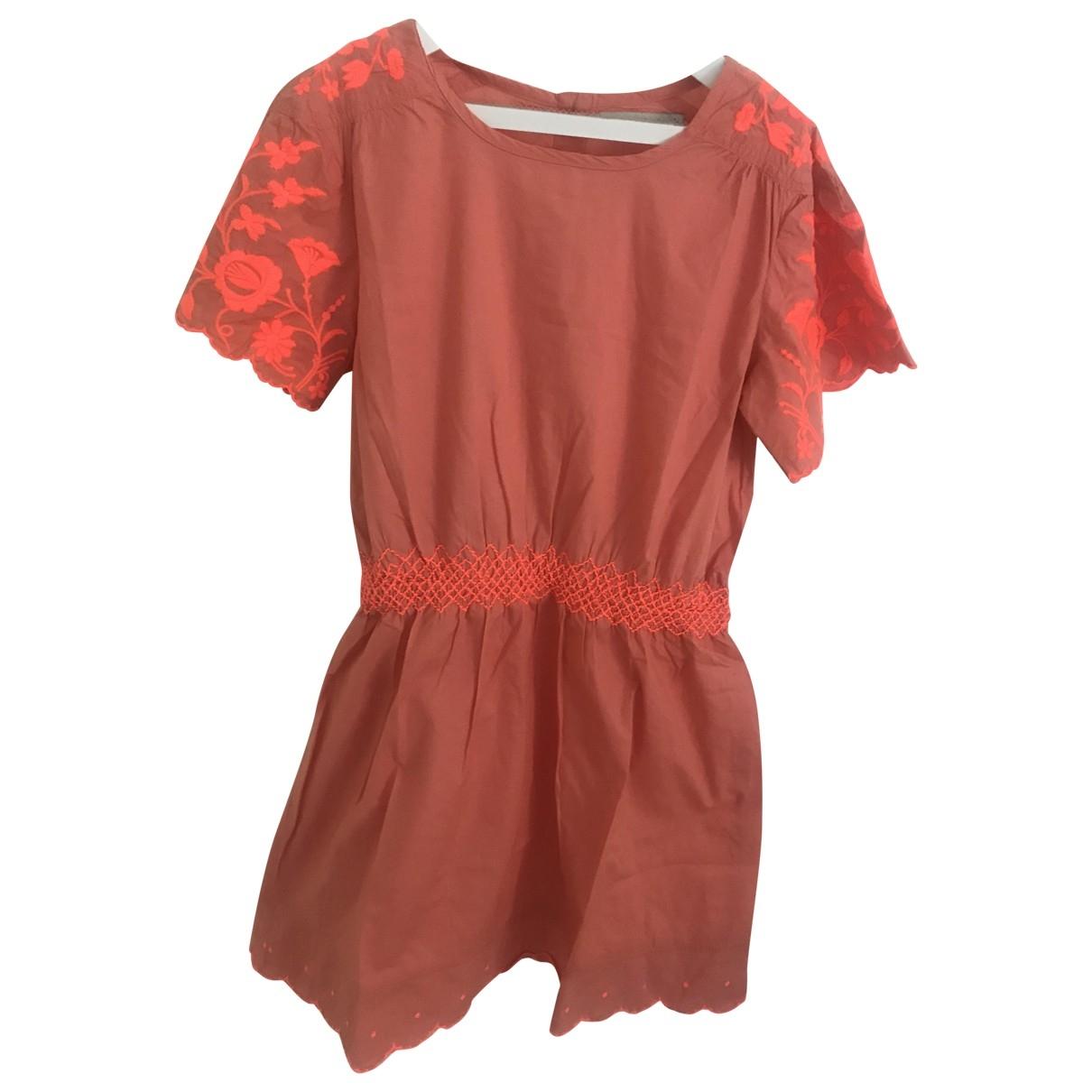 Stella Mccartney Kids - Robe    pour enfant en coton - orange