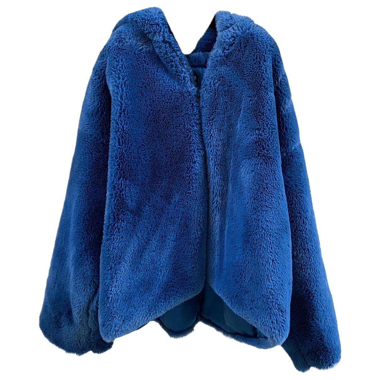 - Veste Oversize pour femme - bleu